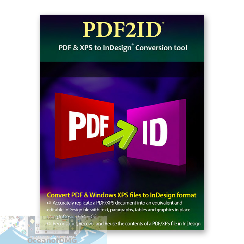 PDF2ID for Mac OS X Free Download-OceanofDMG.com