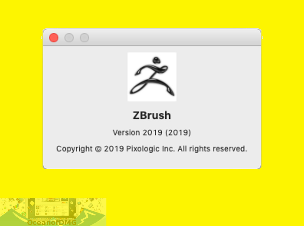Download Pixologic Zbrush 2019 for Mac OS X