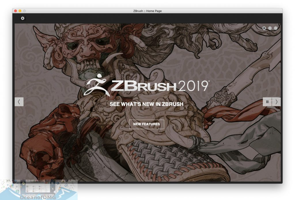 Pixologic Zbrush 2019 for Mac OS X Latest Version Download-OceanofDMG.com