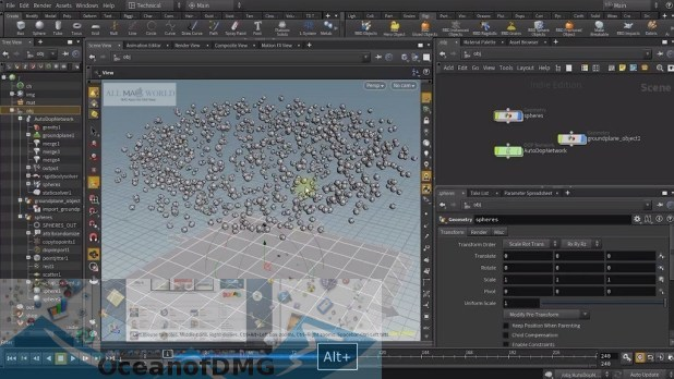 SideFX Houdini FX for Mac Latest Version Download-OceanofDMG.com