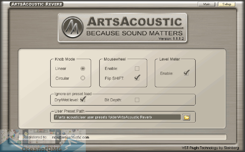 ArtsAcoustic Reverb VST for Mac Direct Link Download-OceanofDMG.com