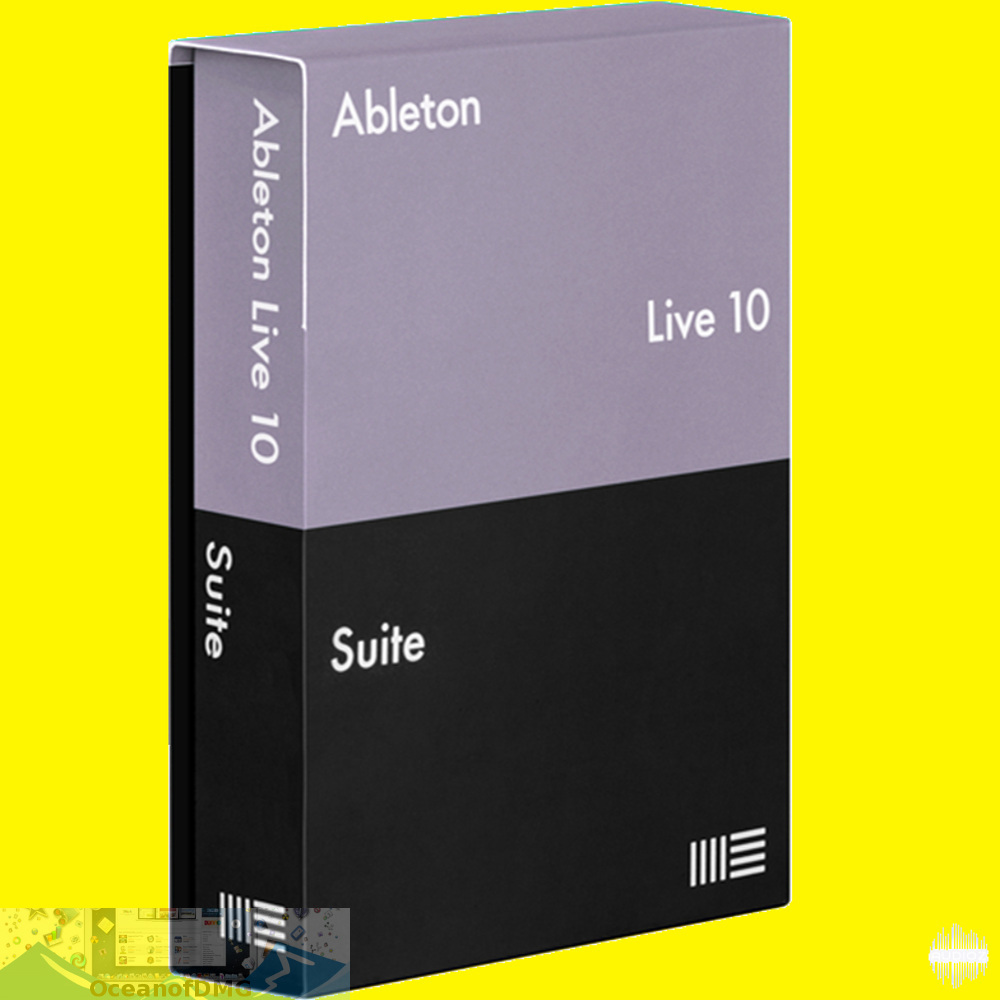 Ableton - Live Suite 10 for MacOS X Free Download-OceanofDMG.com
