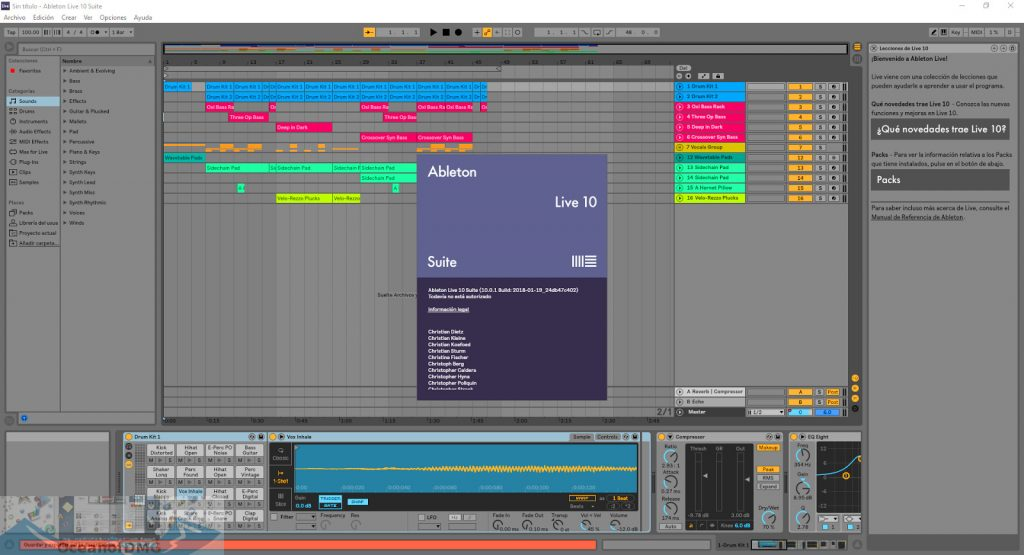 Ableton - Live Suite 10 for MacOS X Offline Installer Download-OceanofDMG.com