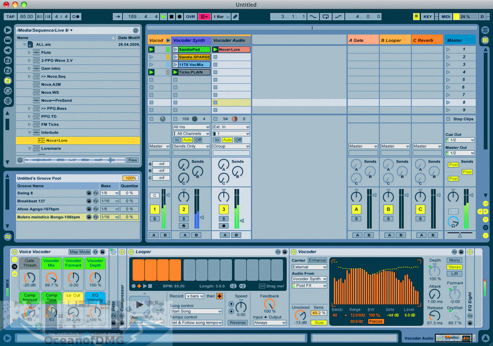 Ableton Live Suite 8 for Mac Latest Version Download-OceanofDMG.com
