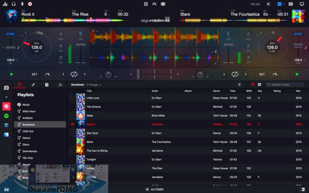 Algoriddim - djay Pro 2 for Mac Direct Link Download-OceanofDMG.com