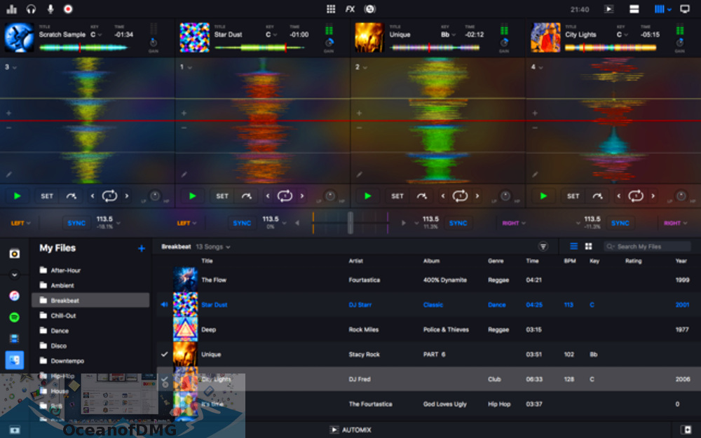 Algoriddim - djay Pro 2 for Mac Latest Version Download-OceanofDMG.com