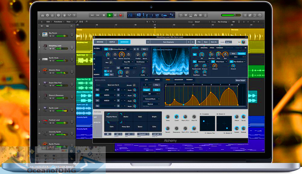 Apple Logic Pro X 10.4.4 for Mac Direct Link Download-OceanofDMG.com
