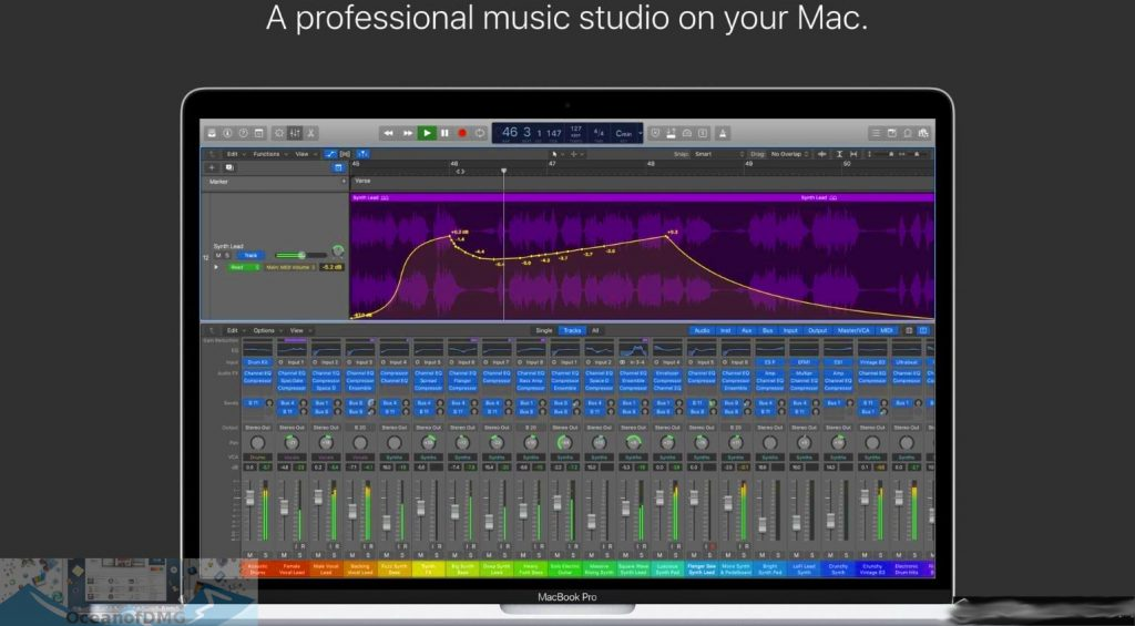 Apple Logic Pro X 10.4.4 for Mac Latest Version Download-OceanofDMG.com
