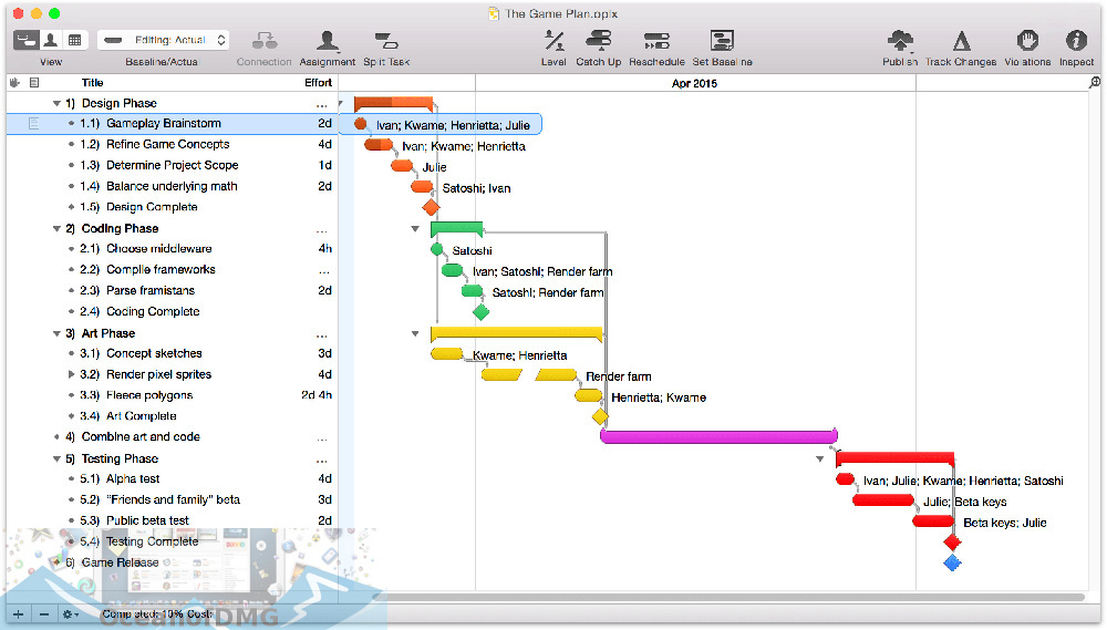 OmniPlan 2 for Mac Latest Version Download-OceanofDMG.com