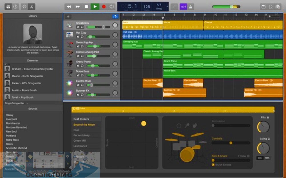 Apple - GarageBand 10 for Mac Latest Version Download-OceanofDMG.com