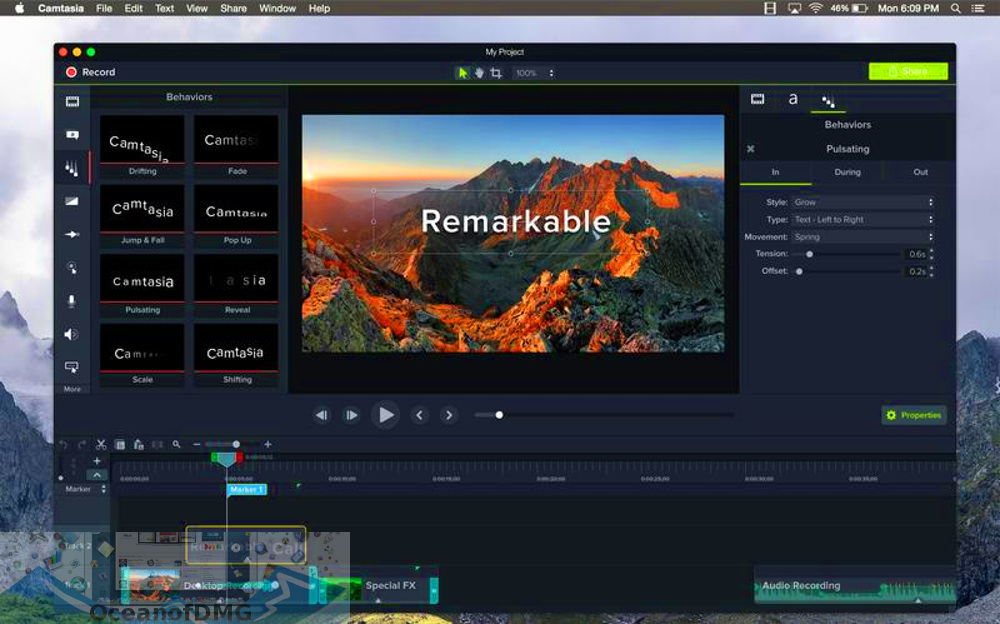Camtasia 2019 for Mac Latest Version Download-OceanofDMG.com