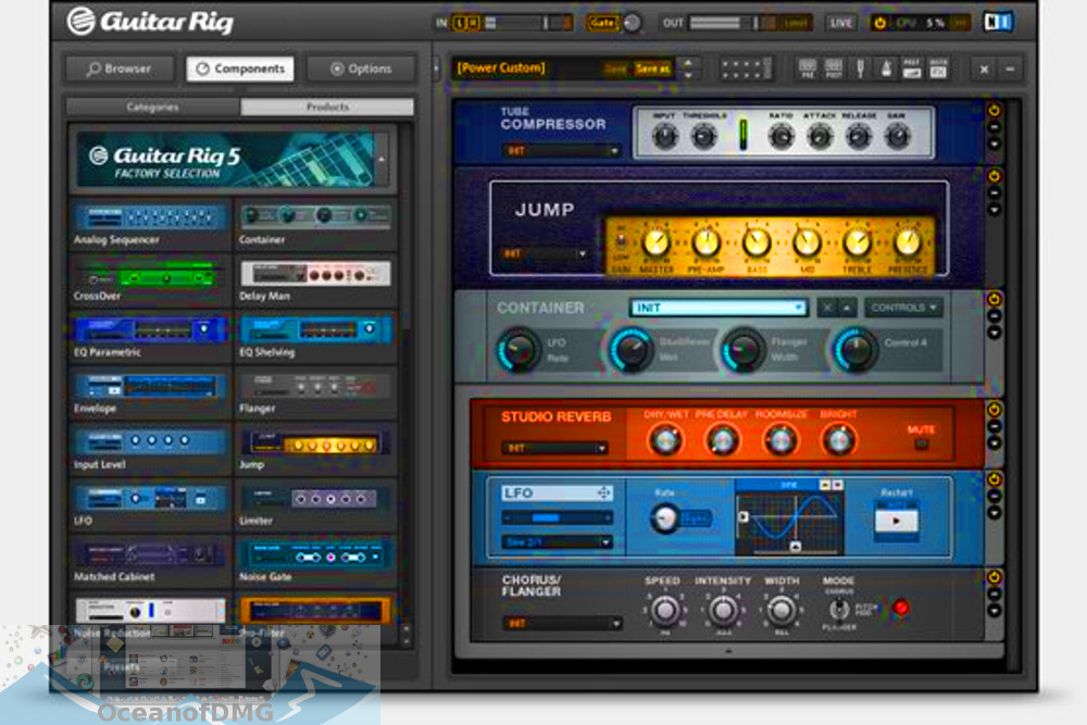 Guitar Rig 5 for Mac Offline Installer Download-OceanofDMG.com
