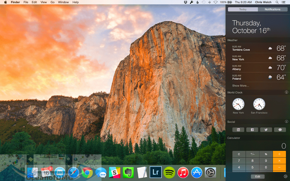 Mac OS X 10. 10. 5 Yosemite Official for Mac Latest Version Download-OceanofDMG.com