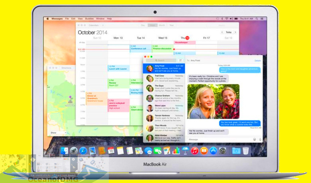 Mac OS X 10. 10. 5 Yosemite Official for Mac Offline Installer Download-OceanofDMG.com