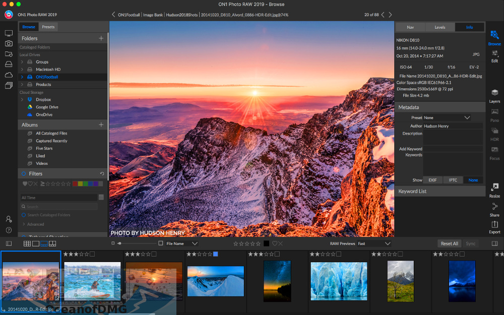 ON1 Photo RAW 2019 for Mac Latest Version Download-OceanofDMG.com