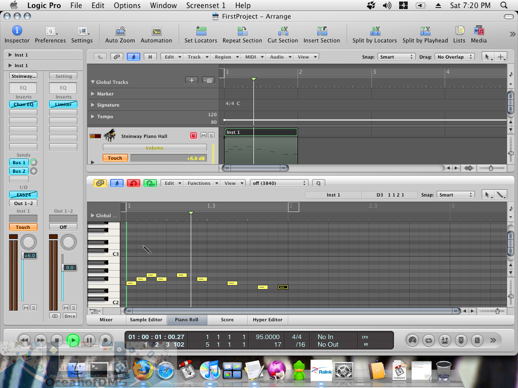 Apple Logic Pro 9.1.8 for Mac Direct Link Download-OceanofDMG.com