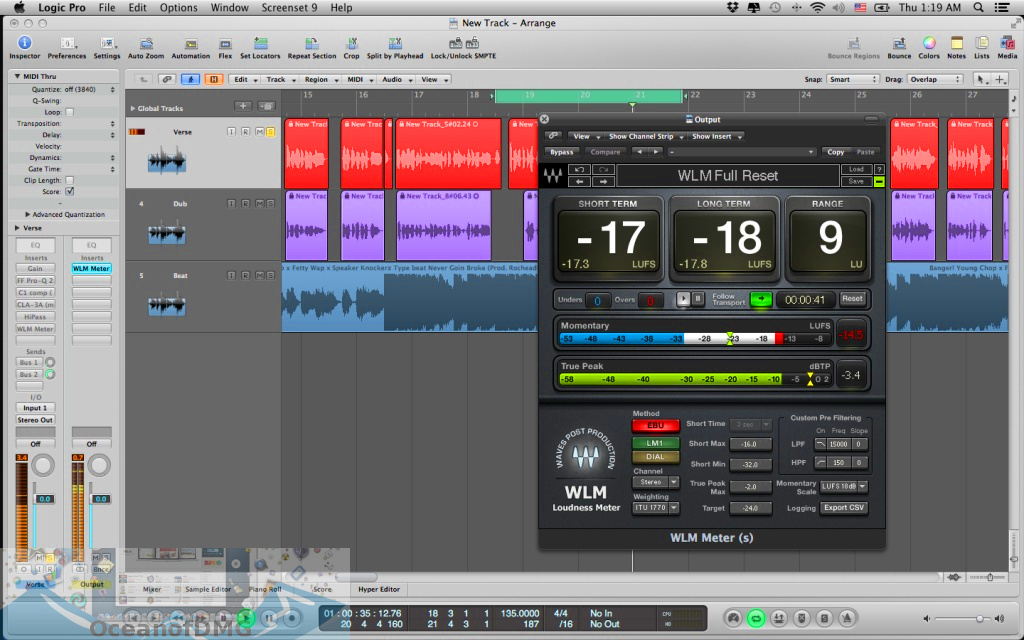 Apple Logic Pro 9.1.8 for Mac Latest Version Download-OceanofDMG.com