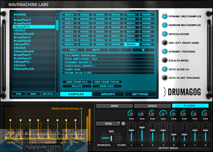 Drumagog 5 for Mac Latest Version Download-OceanofDMG.com