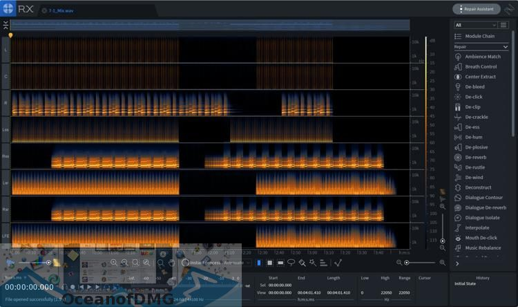 iZotope - RX 7 Advanced Audio Editor for Mac Direct Link Download-OceanofDMG.com