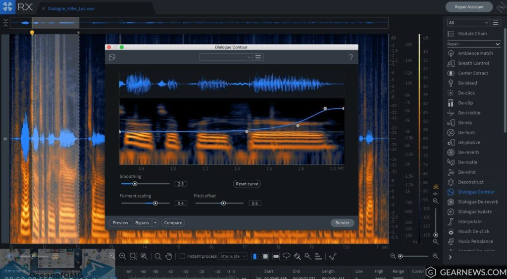iZotope - RX 7 Advanced Audio Editor for Mac Latest Version Download-OceanofDMG.com