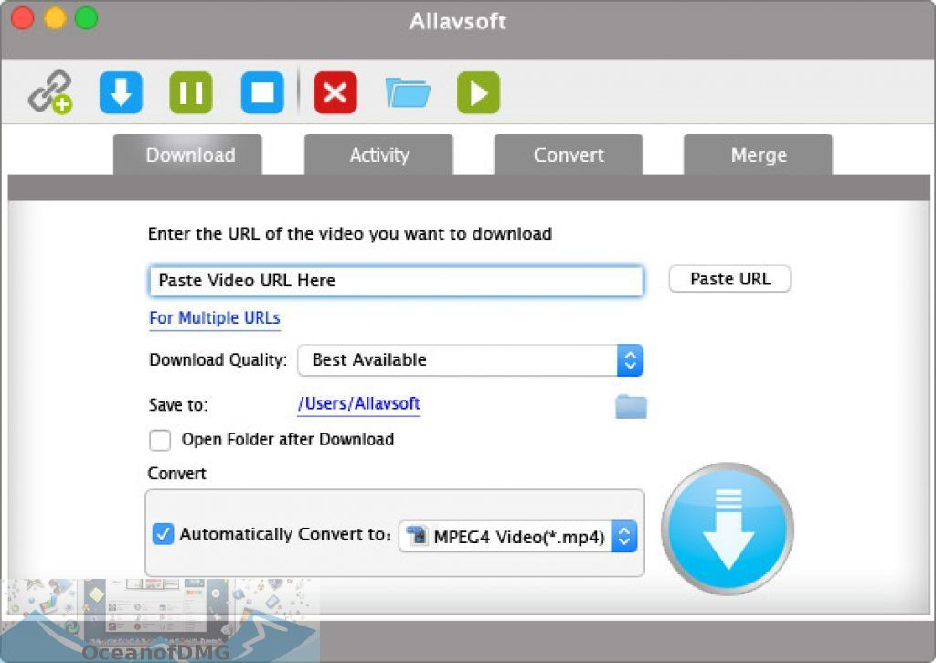 Allavsoft Video Downloader Converter for Mac Latest Version Download-OceanofDMG.com