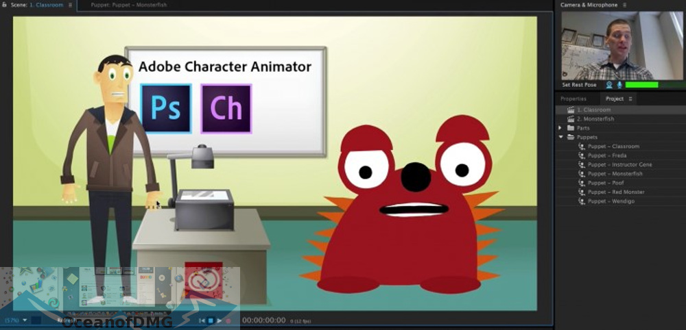 Adobe Character Animator 2020 for Mac Offline Installer Download-OceanofDMG.com