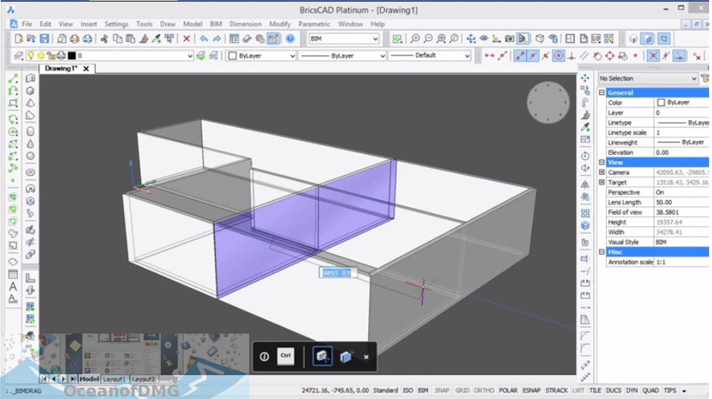 BricsCAD Platinum 2020 for Mac Direct Link Download-OceanofDMG.com
