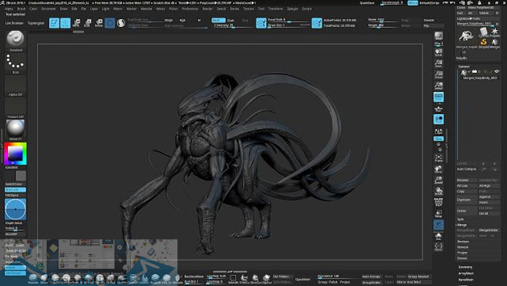 Pixologic ZBrush 2020 for Mac Offline Installer Download-OceanofDMG.com