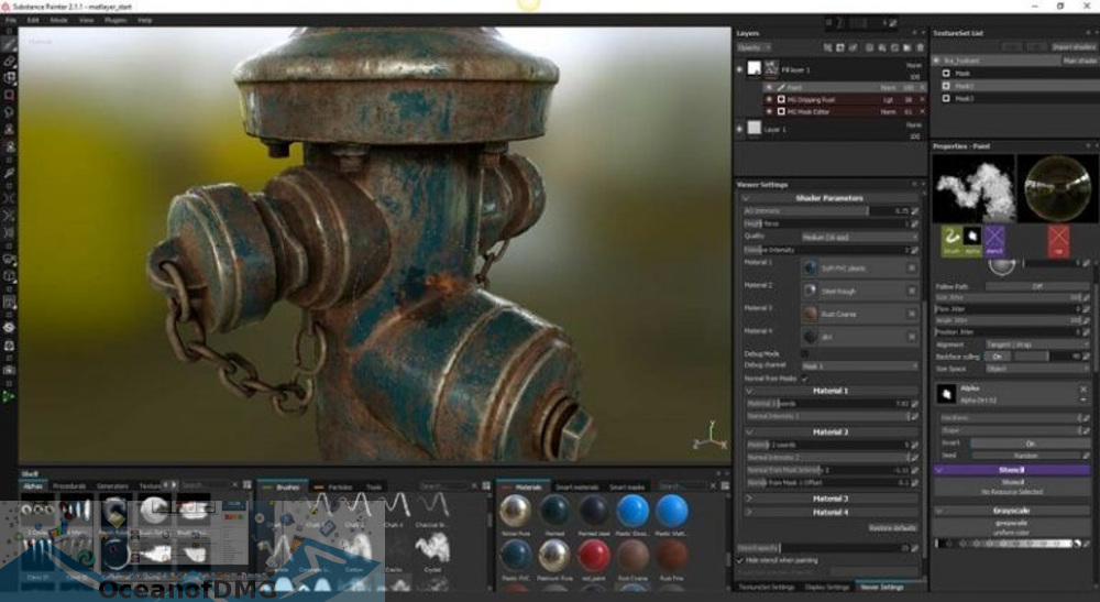 Allegorithmic Substance Painter 2019 for Mac Offline Installer Download-OceanofDMG.com