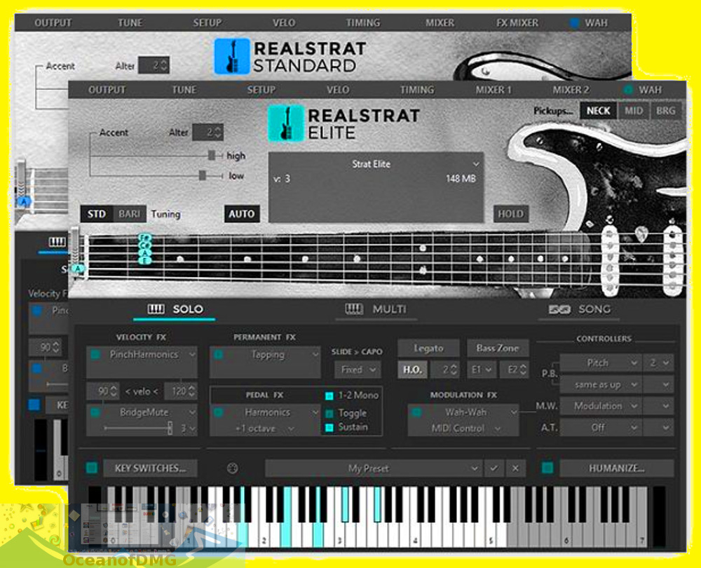 MusicLab RealStrat for Mac Offline Installer Download-OceanofDMG.com